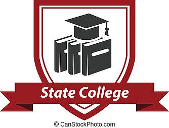 大学, 州, 紋章