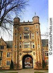 大学, 建物