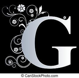 大寫字母, g