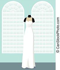 大広間, 服, 監督しなさい, マネキン, 結婚式
