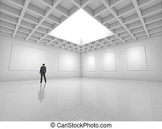 大廳, 為, 展覽