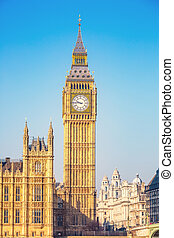 大本鐘, 在, 倫敦