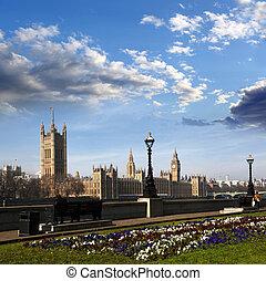 大本鐘, 在, 倫敦, england