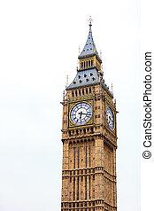 大本鐘, 在, westminster, 倫敦, england, 英國