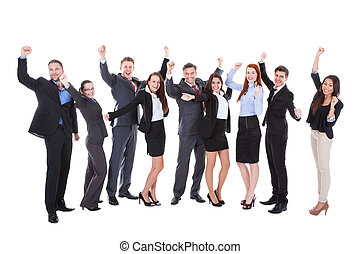 大的組, ......的, 興奮, 商業界人士