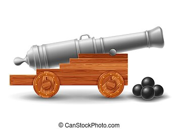 大砲, 古代, 砲弾, 船