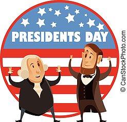 大統領, 旗, 日