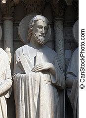 大聖堂, アンドリュー, 貴婦人, 聖者, notre