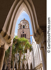 大聖堂, タワー, amalfi, 鐘