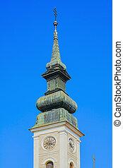大聖堂, バプテスト, ジョン, spire, st. 。