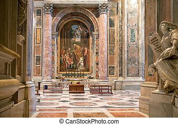 大聖堂, ピーター, 聖者