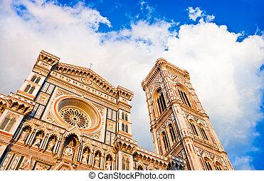 大聖堂, フィレンツェ, 日没
