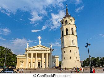 大聖堂, リスアニア, vilnius, 光景