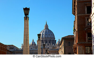 大聖堂, ローマ, 聖者, peters