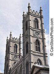大聖堂, 貴婦人, モントリオール, notre