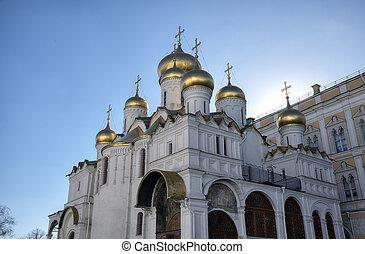 大聖堂, annunciation., mosc