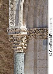 大聖堂, italy., lucera., puglia., basilica.