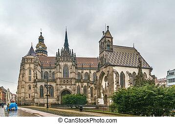 大聖堂, kosice, スロバキア, elisabeth, st.
