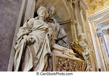 大聖堂, peters, 聖者, バチカン