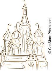 大聖堂, st. 。, basil's