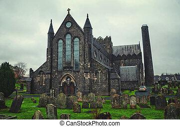 大聖堂, st., canices, kilkenny, 教会