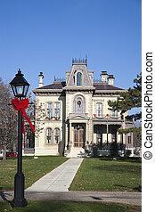 大邸宅, デイビス,  david, 歴史的,  blomington