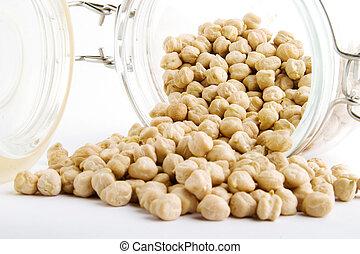大量, 小雞豌豆