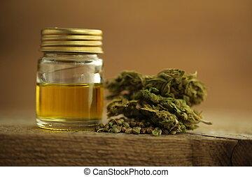 大麻, 產品, 油, cbd