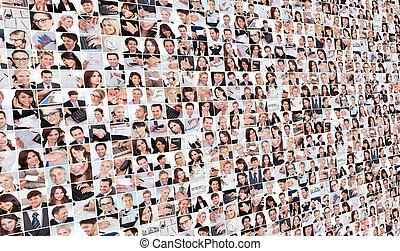 大, 圖像, 集合, 各種各樣, 事務