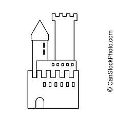 大, 城堡, 圖象