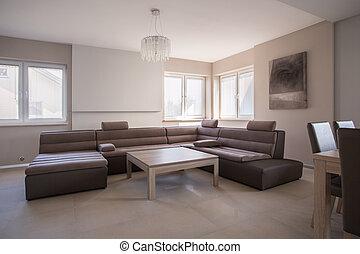 大, 奢侈, 沙发