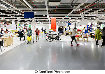 大, 家具, 購物中心