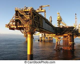 大, 石油裝置