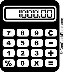 大, 計算器