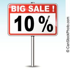 大, 銷售, 路標