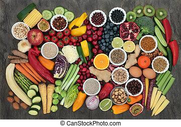 大, 食物, 超級, 彙整