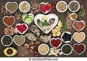 大, 食物, aphrodisiac, 彙整