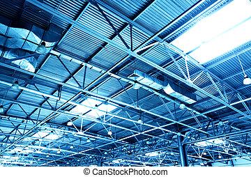 天井, 倉庫