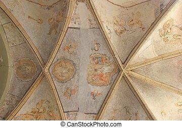 天井, 教会