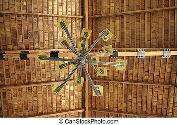 天井, 木, 屋根