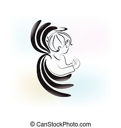 天使の祈ること, 子供, ロゴ