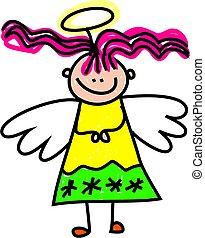 天使, 子供