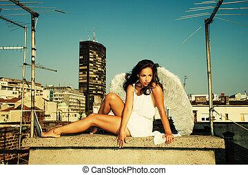 天使, 屋頂