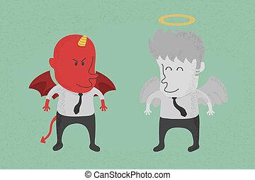 天使, 悪魔