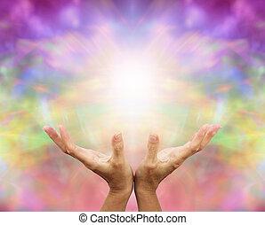 天使, 治療, 能量