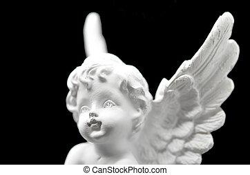 天使, 美しい, 白