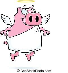 天使, 豚