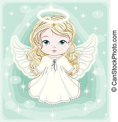 天使, 赤ん坊, クリスマス