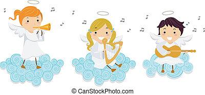 天使, 音樂