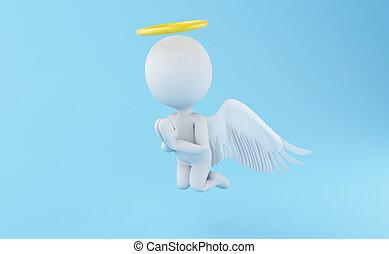 天使, 3d
